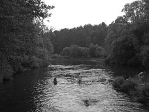 riverbathing