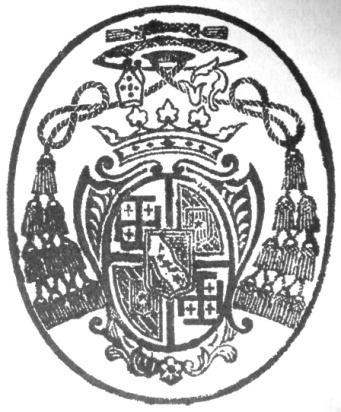 Ấn biểu hiện linh mục của Bá Đa Lộc