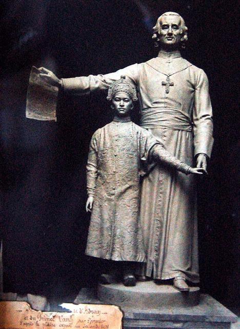Tượng Bá Đa Lộc & Hoàng tử Cảnh
