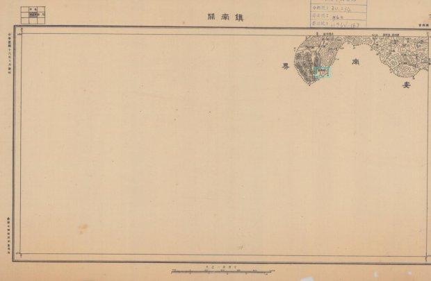 Bản đồ Tưởng Giới Thạch họa vào năm Dân Quốc 13