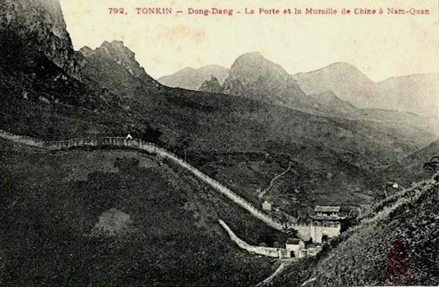 Ải Nam Quan nhìn từ độ cao ở Đồng Đăng