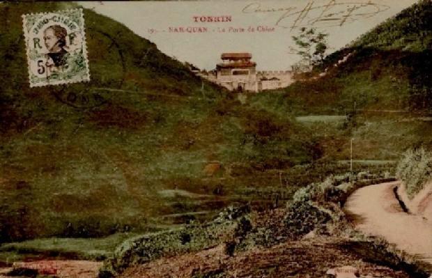 Ải Nam Quan nhìn từ hướng Đồng Đăng
