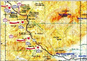 LĐ3ND trấn ngự từ đèo Phượng Hoàng đến Khánh Dương