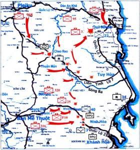 Mặt Trận Quân Khu 2 cuối tháng 3/1975
