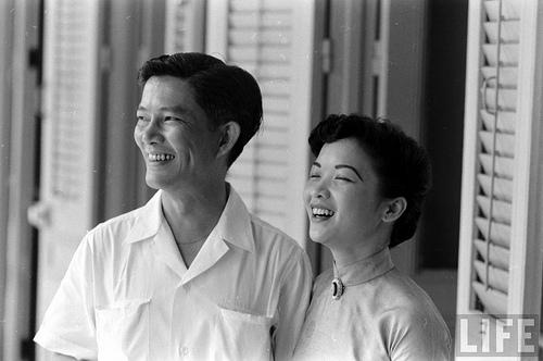 Bà Trần Lệ Xuân và Ông Ngô đình Nhu