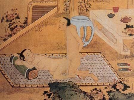 Mây Mưa (Yunyu)  Chinese Painting, Qing Dynasty