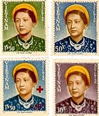 Tem Việt  Nam Cộng Hòa Từ 1950 Đến 1954