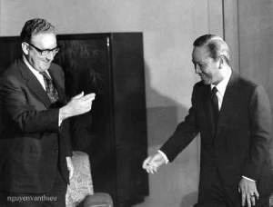TT Thieu & Kissinger