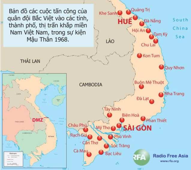 Tướng Võ Nguyên Giáp và tiến trình bí ẩn của kế hoạch tấn công Tết Mậu Thân 1968 | OVV