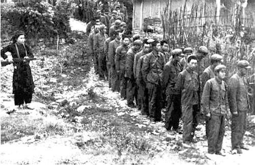 Tù binh Trung Quốc bị bắt tại Cao Bằng