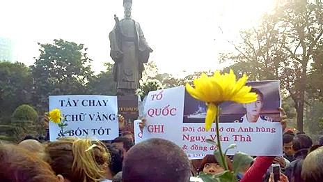Chính phủ Việt Nam vẫn dè dặt trong việc kỷ niệm tử sỹ Hoàng Sa