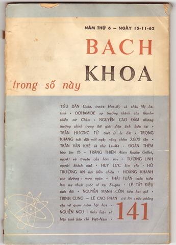 Tạp chí Bách Khoa (1962)