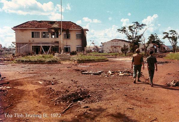 An Lộc 1972 - Tòa Tỉnh Trưởng Bình Long