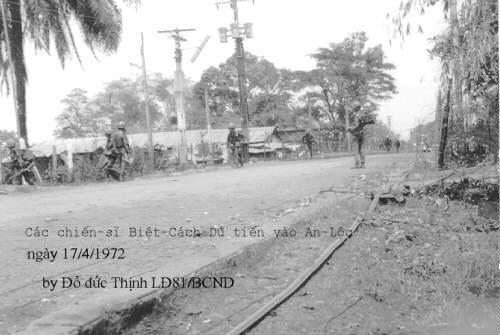Biệt cách dù tiến vào An Lộc – 17/04/1972