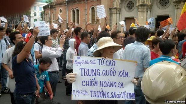 Biểu tình chống Trung Quốc tại Việt Nam.