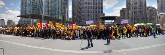 Lễ thượng kỳ Viet Nam kỷ niệm 40 năm ngày Quốc Hận 30/04 tại Mississauga, On Canada