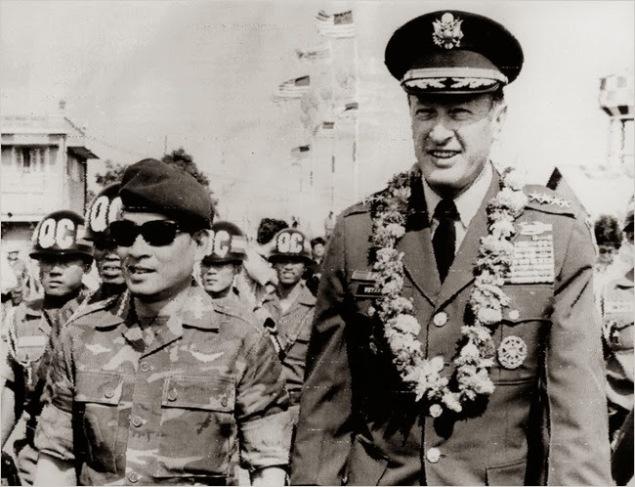 Tướng Cao Văn Viên -Tướng Federick Weyand- 1973