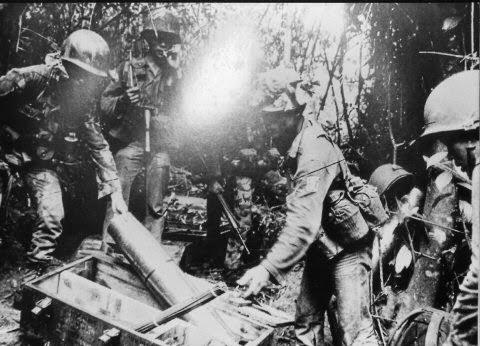 Một đơn vị BĐQ tại Phù Mỹ, Bình Định, tháng 5/1972