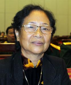 Bà Ngô Thị Hồng Thương. Ảnh: Duy Hồng.