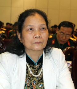 Bà Phạm Thị Viễn. Ảnh: Duy Hồng.
