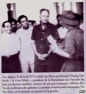Bùi Tín & Dương Văn Minh, 30/4/1975
