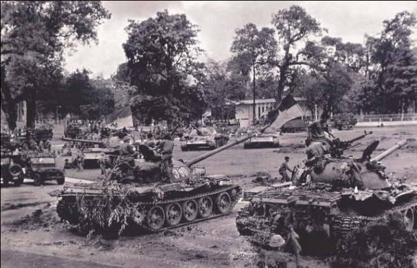 Chiến xa CSBV vào Saigon 30/4/1975