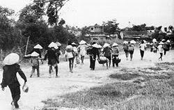 Dân Quảng Trị, Thừa Thiên di tản về Huế 4/1972