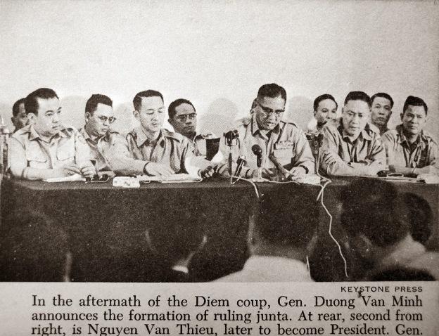 Trung Tướng Dương Văn Minh, Chủ tịch Hội Đồng Quân Nhân Cách Mạng 11-1963