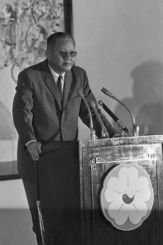 Tổng Thống Dương Văn Minh, lễ nhậm chức 28/4/1975