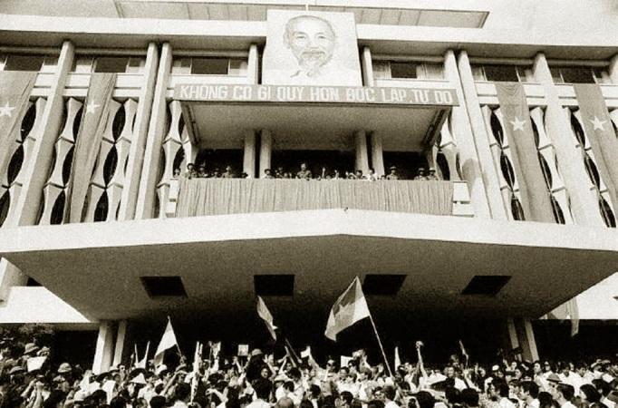 Dinh Độc Lập, tháng 5/1975