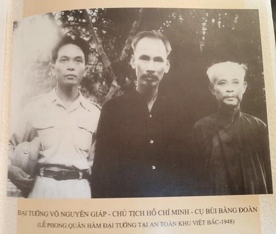 Võ Nguyên Giáp, Hồ Chí Minh, Bùi Bằng Đoàn (1948) @On the Net