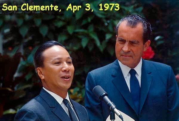 TT Nguyễn văn Thiệu và TT Richard Nixon @ nixonlibrary.gov