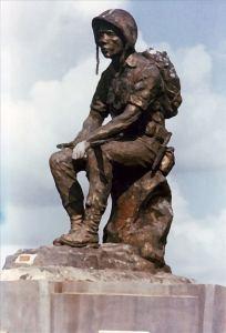 Bức tượng Thương Tiếc, Nghĩa trang Quân đội Biên Hòa