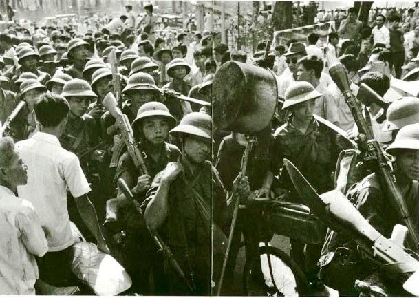 CSBV vào Saigon 30/4/1975