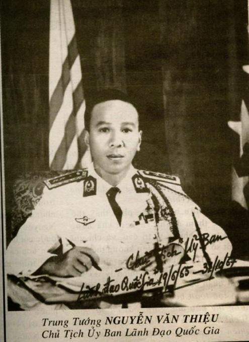 Trung Tướng Nguyễn Văn Thiệu, 1965