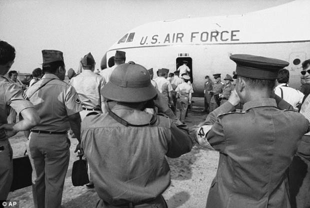 ĐẠi diện Bắc Việt đến Tân Sơn Nhất 1973