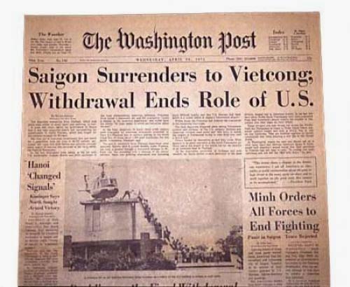 Washington Post 30/4/1975