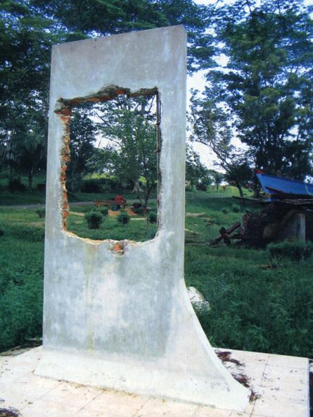 Bia Thuyền Nhân trên đảo Galang Indonesia