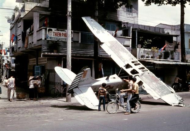 Đường phố Sài Gòn ngày 13 tháng 5 năm 1975.