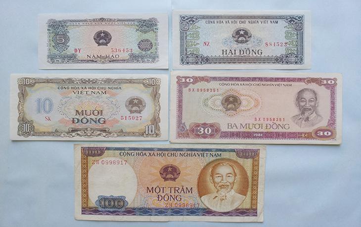 Loại tiền mới trong đợt  đổi tiền1978
