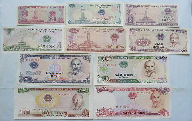 Loại tiền mới trong đợt đổi tiền 1985