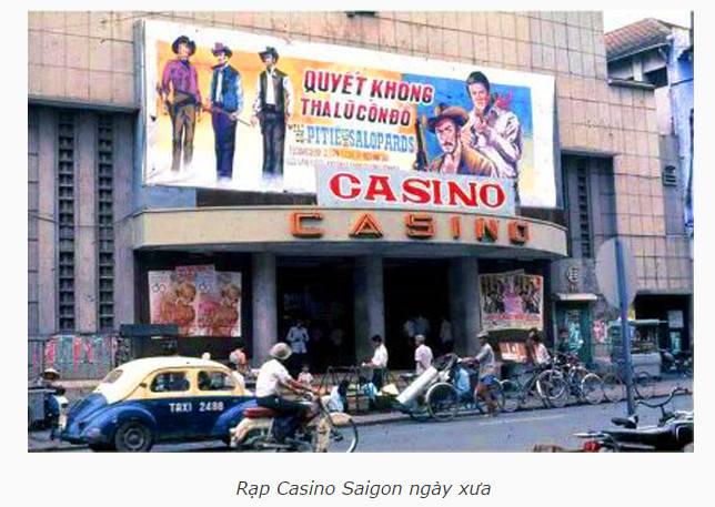 Rạp Casino Saigon ngày xưa
