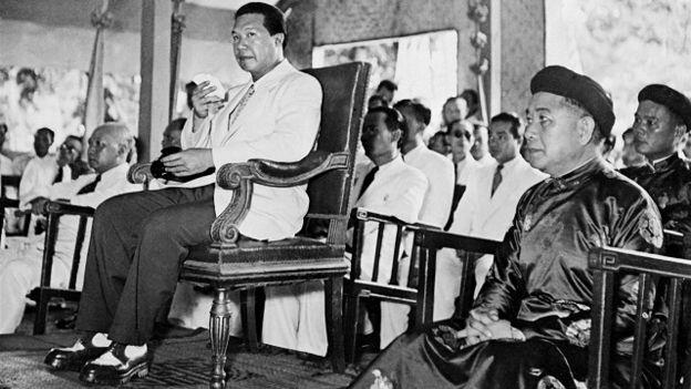 Vua Bảo Đại tuyên bố thoái vị cách đây 70 năm. Nguồn ảnh: AFP