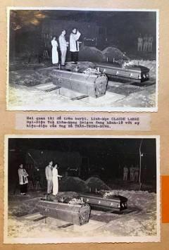 Linh Mục Claude Larre Đại Diện Tòa Khâm Mạng Saigon làm lế an táng