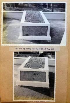 Hai nấm mộ của hai ông